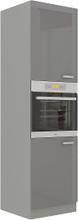 Grey Kjøkkenskap 60x57x210 cm, Kjøkkenskap