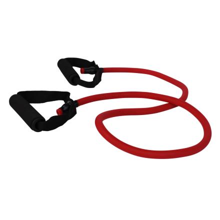 cPro9 Latex Exertube Træningselastik Niveau 3 Hård Rød - Apuls