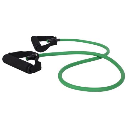 cPro9 Latex Exertube Træningselastik Niveau 1 Let Grøn - Apuls