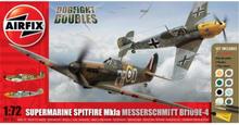 Airfix Supermarine Spitfire Mk1a Messerschmitt BF109E-4 1:72