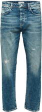 SELECTED 6178 - Tapered Fit Jeans Men Blue