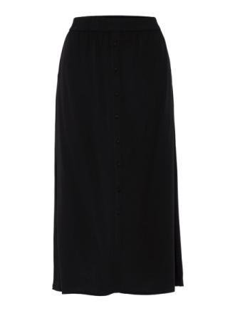 VERO MODA Long Skirt Women Black