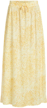 VILA Spring Maxi Skirt Women Yellow