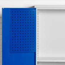 Verktygstavla perforerade SMV 338x600 mm för dörr RAL 5010