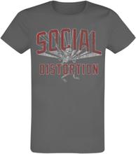Social Distortion - Disorder -T-skjorte - koksgrå
