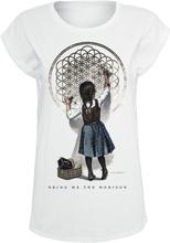 Bring Me The Horizon - Chalk Girl -T-skjorte - hvit