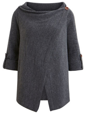 OBJECT COLLECTORS ITEM Objdeanna - Knitted Cardigan Women Grey
