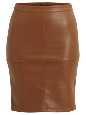 VILA Vipen - Skirt Women Brown