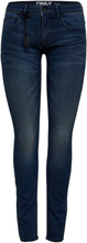 ONLY Coral Superlow Skinny Fit Jeans Women Blue