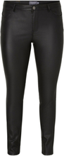 JUNAROSE Coated Jeans Women Black