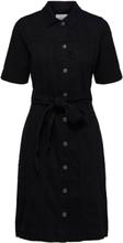 SELECTED Denim - Mini Dress Women Black