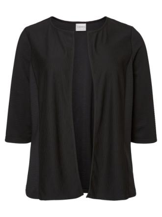 JUNAROSE 3/4 Sleeved Cardigan Women Black