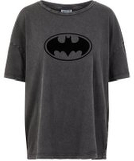 NOISY MAY Batman T-shirt Kvinder Sort