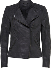 ONLY Leather Look Jacket Women Black