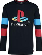 Playstation - Retro -Langermet skjorte - svart