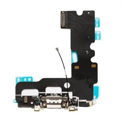 IPhone 7 Laddkontakt & Mikrofon - Vit