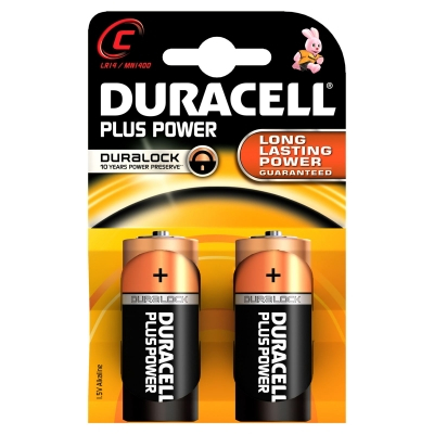 Duracell Plus MN1400 2 kpl