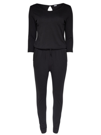 ONLY 3/4 Sleeved Jumpsuit Women Black