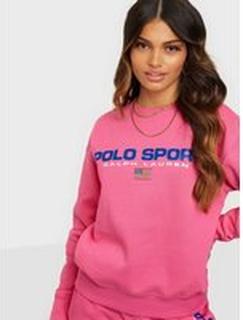 Polo Ralph Lauren Psprt Cnflc-Long Sleeve-Knit Pink