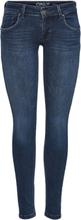 ONLY Onldylan Low Skinny Fit Jeans Women Blue