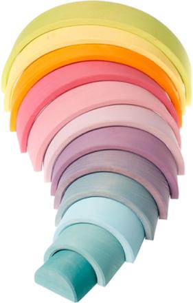 Regnbåge i pastellfärger - stor (12 delar, Grimms)