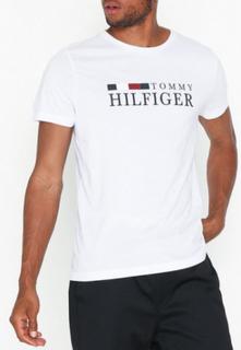 Tommy Hilfiger Rwb Tommy Hilfiger Tee T-skjorter og singleter Bright White