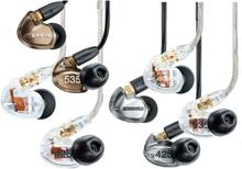 Shure Sound Isolation headphones, in-ear (Välj modell)