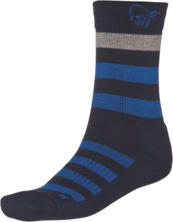 Norrøna Falketind Mid Weight Merino Socks (2018) Unisex friluftssokker Blå 37-39