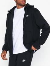 Nike Sportswear M Nsw Club Hoodie Fz Ft Tröjor Svart
