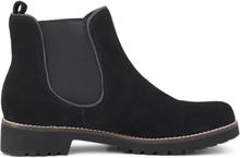 Green Comfort Chelsea Boot Black