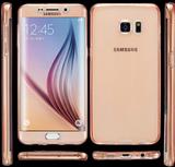 Samsung Galaxy S7 - Dubbelsidigt silikonfodral med