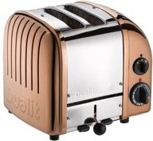 Dualit Classic Toaster 2 Copper. 1 stk. på lager