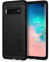 Spigen SGP Tough Rüstungs-Kasten für Samsung Galaxy S10 - Schwarz