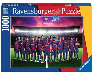 Ravensburger: FC Barcelona 2019/20 Pussel 1000b