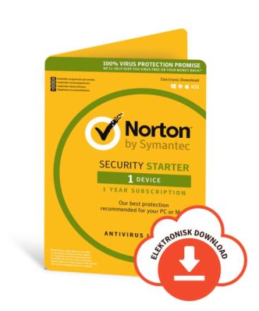 Norton Security Starter 2019 - 1 enhed / 2 år
