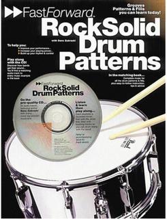 Fast Forward: Rock Solid Drum Patterns (Bok+CD)