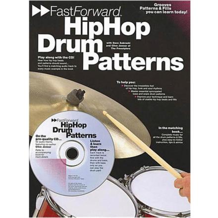 Fast Forward: Hip Hop Drum Patterns (Bok+CD)