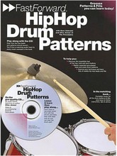 Fast Forward: Hip Hop Drum Patterns (Bok+CD)