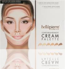 Bellapierre Contour & Highlight Cream palette