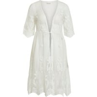 VILA Blonde Kimono Kvinder White