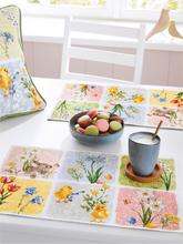 Tischset im 2er-Set Sander mehrfarbig