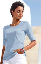 Rundhals-Shirt Peter Hahn blau