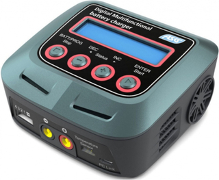 Batterilader Auto-Stopp, Digital Multifunctional
