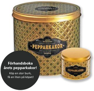 Stor pepparkaksburk, Årets färg 2018, Guld