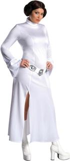 Prinsesse Leia Sexy Star Wars Disney kvinner kostyme pluss