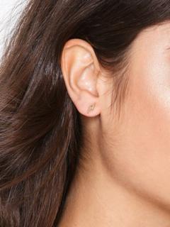 Blue Billie Lightning Stud Earring
