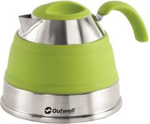 Outwell sammenklappelig kedel 1,5 limegrøn 650127