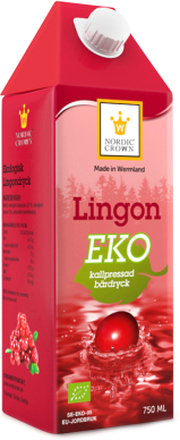 Eko Lingondryck 750ml - 60% rabatt