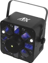 AFX Combo LED ljuseffekt med Röd/Blå laser