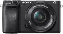 Sony Alpha A6400 mit 16-50mm Mirrorless Digitalkamera - Schwarz (Englisch Version)